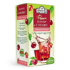 Ахмад пакетированный фруктово-ягодный Фьюжн Шиповник и вишня 20 пакетиков