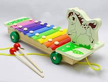 Деревянная игра  Ксилофон (Павлин) / Музыкальные игрушки / Развивающие игрушки, фото 3