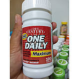 Вітаміни One Daily Maximum 21st Century 100 tab, фото 3