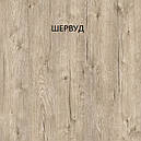 Стол обеденный Слайдер Венге/ ШЕРВУД, 100(+100)*82см, фото 6