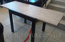 Стол обеденный Слайдер Венге/ ШЕРВУД, 100(+100)*82см