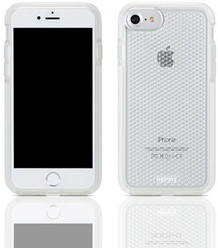 Чехол-накладка Remax Chenim Series for iPhone 7 White #I/S