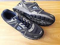 Мужские кроссовки, эко-кожа+текстиль, размеры 41  42  43  44  45  46, маломерят на один размер