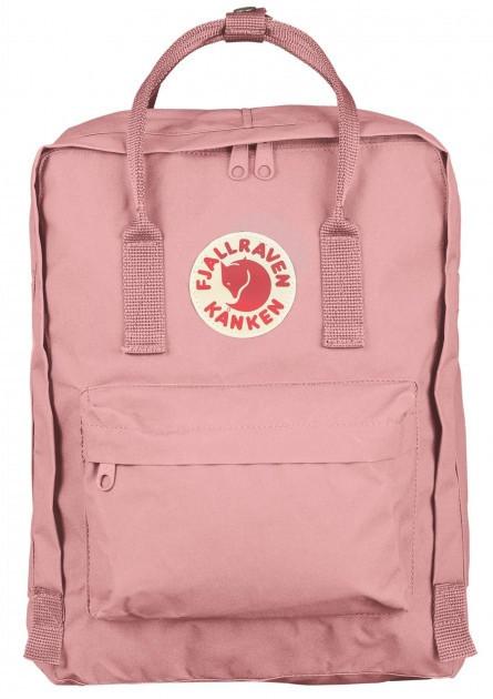 Стильний рюкзак Fjallraven Kanken Classic 16 л, пудра