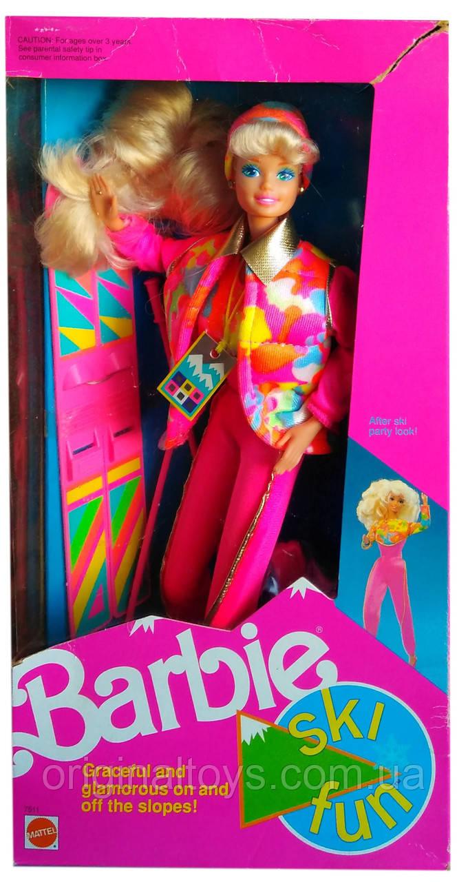 Коллекционная кукла Барби Barbie Ski Fun 1991 Mattel 7511