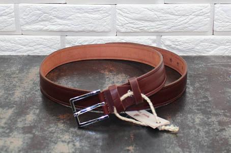 Брючный  ремень коричневый 3760, фото 2