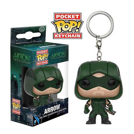 """Фігурка брелок Funko Pop! Зелена стріла (""""Arrow""""), фото 2"""