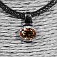 Срібний кулон з султанитом діаспор, 677ПС, фото 2