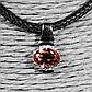 Срібний кулон з султанитом діаспор, 677ПС, фото 3