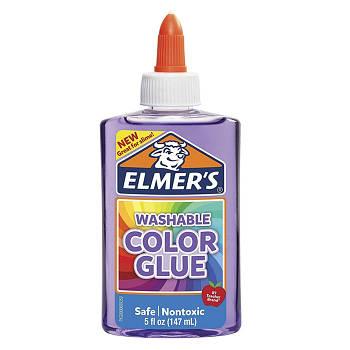 Клей для слаймов Elmer's Color Glue прозрачно-фиолетовый 147 мл