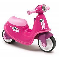 Скутер беговел Smoby 721002Розовый