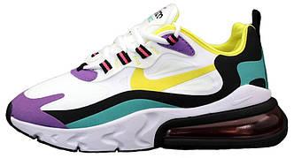 Мужские кроссовки Nike Air Max 270 React  (Premium-class) разноцветные
