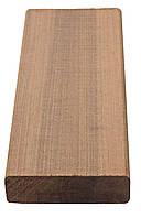 Брус лавочный термолипа Tesli 80х24 мм для бани и сауны