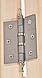 Универсальная стеклянная дверь липа Tesli UNO Diamant 1900х700 мм белая матовая для бани и сауны, фото 5