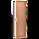 Универсальная стеклянная дверь липа Tesli UNO Delta 1900х700 мм бронзовая матовая для бани и сауны, фото 2