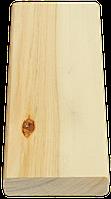 Брус лавочный липа сухой, строганный 80х24 мм Эко Tesli для бани и сауны