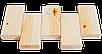 Брус лавочный липа сухой, строганный 80х24 мм Эко Tesli для бани и сауны, фото 2