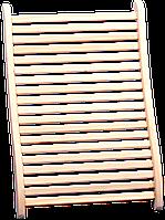 Подспинник анатомический Tesli 450x670 мм липа для бани и сауны