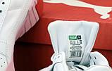 Жіночі кросівки Puma Cali (Premium-class) біло-рожеві, фото 6