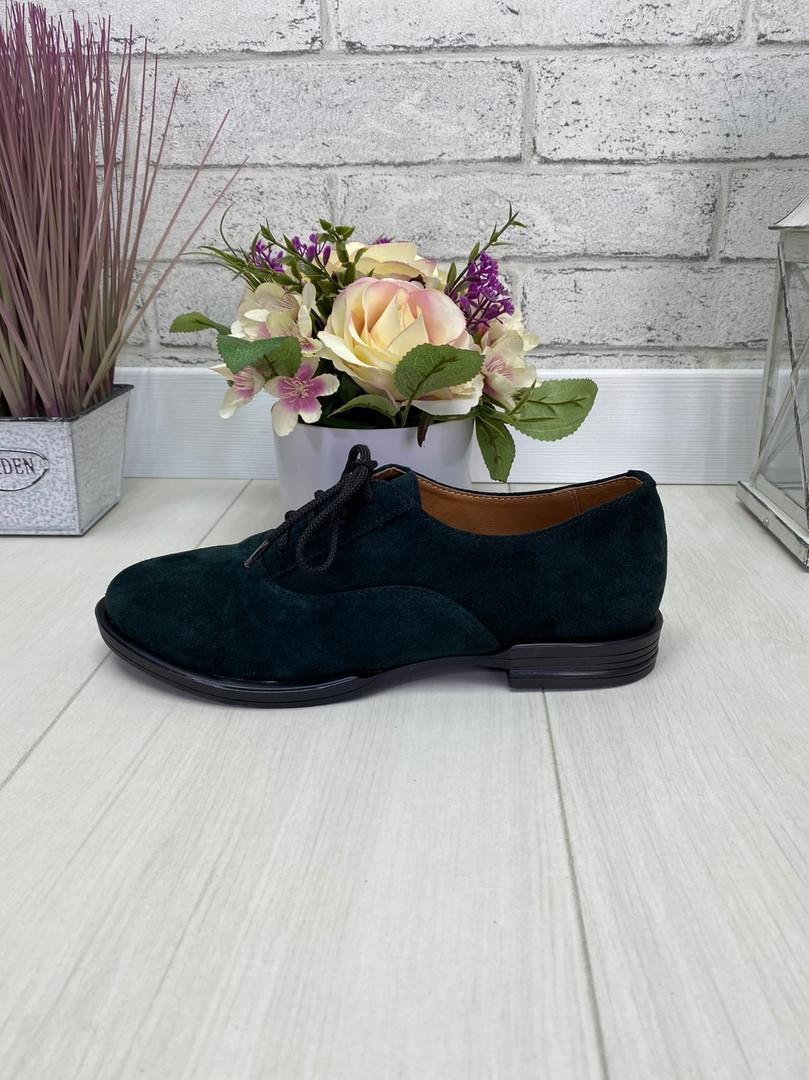 38 р. Туфли женские замшевые, из натуральной замши, натуральная замша