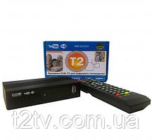 Цифровий тюнер DVB-T2 MEGOGO з LCD