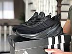 Мужские кроссовки Adidas Sharks (черные) 9185, фото 3