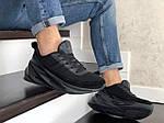 Мужские кроссовки Adidas Sharks (черные) 9185, фото 4