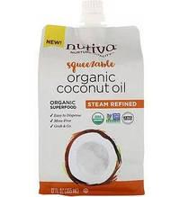 Nutiva coconut oil Органическое кокосовое масло получено путем паровой дистилляции