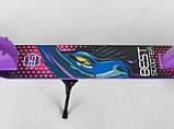 Самокат двухколесный складной Best Scooter 66053 фиолетовый, фото 5