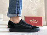 Чоловічі кросівки Vans (чорні) 9188, фото 2
