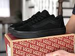 Мужские кроссовки Vans (черные) 9188, фото 3