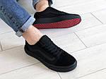 Чоловічі кросівки Vans (чорні) 9188, фото 4