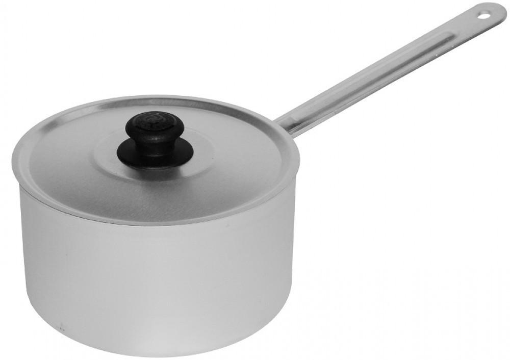 Кастрюля с металической ручкой и крышкой 0,75 л.