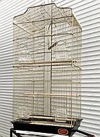 Клетка для средних птиц ™️ Золотая Клетка 614 (47х36х92 см), фото 1