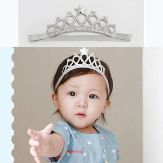 """Пов'язка-корона для дівчинки """"Crown"""" на голову."""