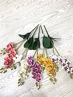 Искусственная орхидея фаленопсис ( латексная 45 см)