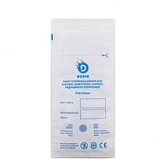 Крафт-пакеты для стерилизации Dezik,100 шт, 75/150