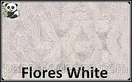 Пробковые панели (обои) Flores White TM Wicanders 600*300*3 мм