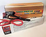 Инвертор UKC 1500W 24V Преобразователь тока AC/DC Gold 24V в 220V, фото 8