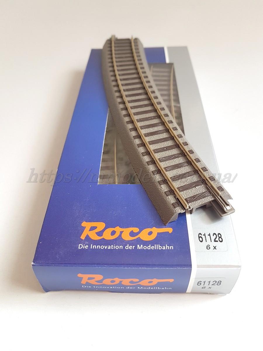 Рельсовый материал - Roco Geoline 61128 Рельс компенсатор радиусом 502.7 mm, 22.5°, масштаба 1:87,H0