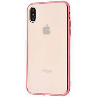 Чехол Glass Case IPhone Xr (Rose Gold)