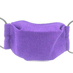 Защитная маска для лица многоразовая трехслойная Mark II Фиолетовая