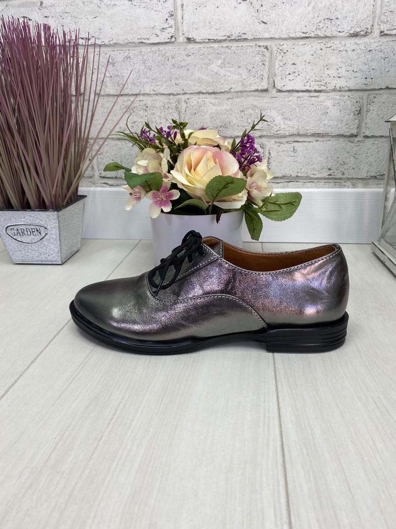 37 р. Туфли женские кожаные, из натуральной кожи, натуральная кожа