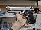 Стартовый пистолет Retay Mod 92 (Chrome), фото 2