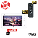 NeoLight NeoKIT HD+ Black IPS FULL HD с DVR комплект домофона, фото 2