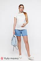 Трикотажные шорты для беременных в спортивном стиле MAJORKA SH-20.032