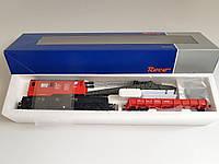 Roco 56239 Кран шестиосный с платформой принадлежности Austrian Federal Railways ÖBB,масштаба 1/87,H0