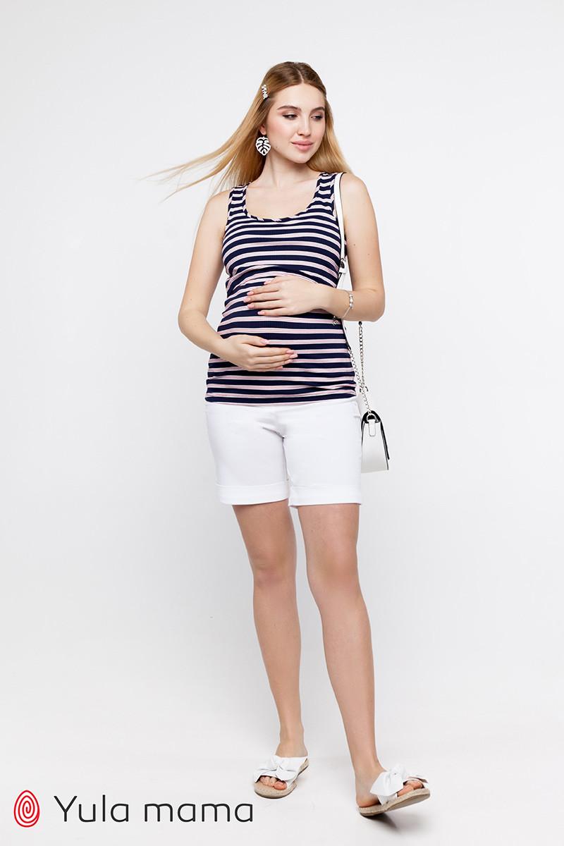 Базовые шорты для беременных в джинсовом стиле MENDIE SH-20.022