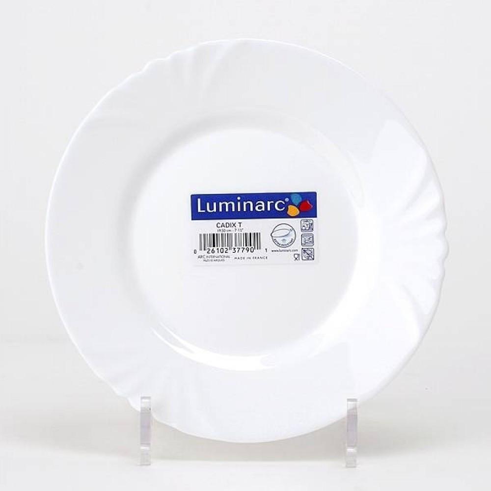 Тарілка обідня кругла CADIX 25см. 4132h