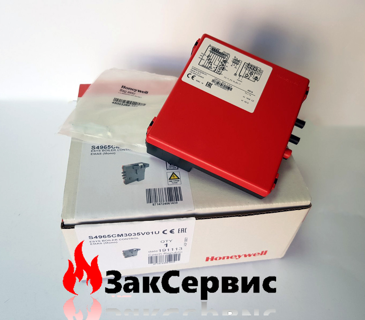 Блок розжига  E.C.A  Calora, Confeo, Fortius, Proteus S4965CM2035  7006901452